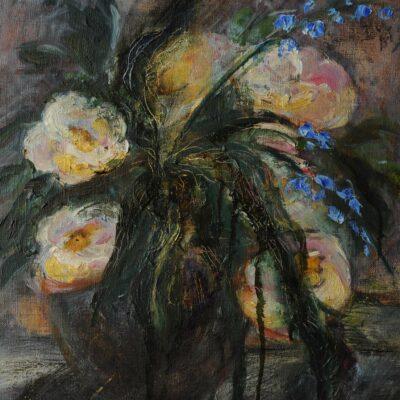 La vie en rose (2012, oil on canvas 41x35)