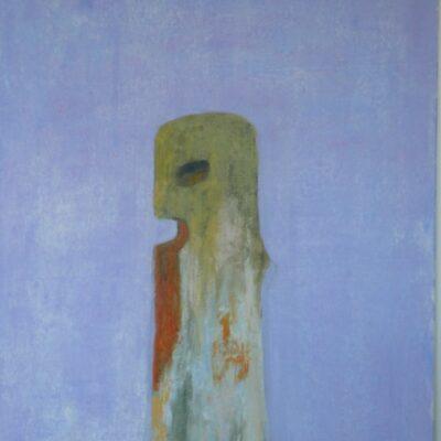 Toteemi (1990, öljy kankaalle, 97×65)